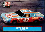 1991 Pro Set Petty Family #33 Richard Petty's Car 1978