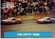 1991 Pro Set Petty Family #35 Richard Petty/Kyle Petty Cars