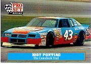 1991 Pro Set Petty Family #42 Richard Petty's Car 1987