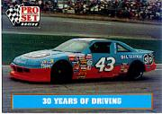 1991 Pro Set Petty Family #43 Richard Petty's Car 1989