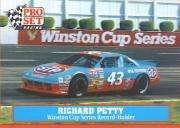 1991 Pro Set Petty Family #47 Richard Petty