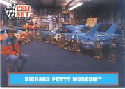 1991 Pro Set Petty Family #50 Richard Petty Museum
