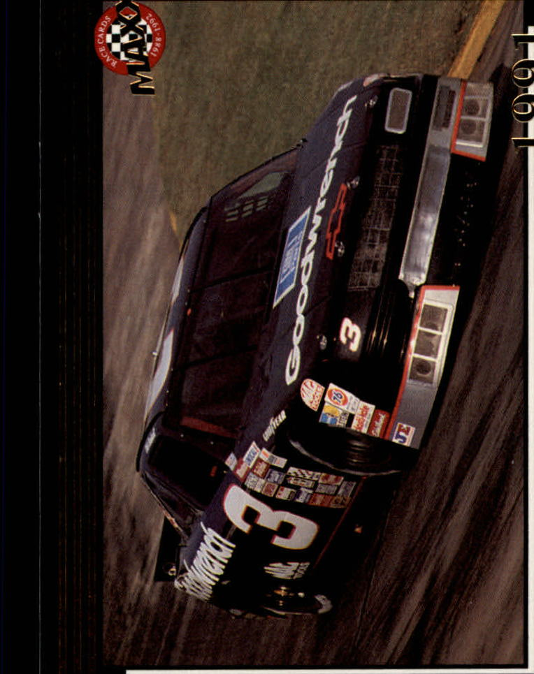 1992 Maxx Black #203 Dale Earnhardt's Car MM