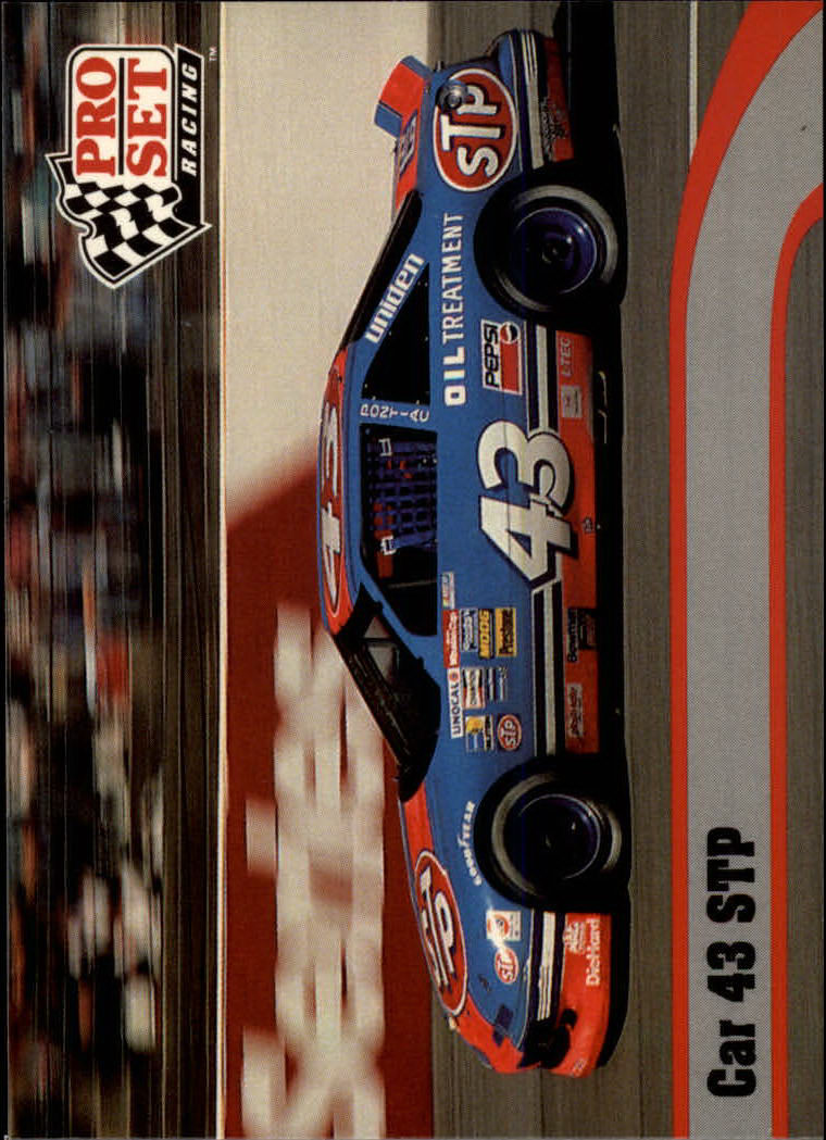 1992 Pro Set #114 Richard Petty's Car front image
