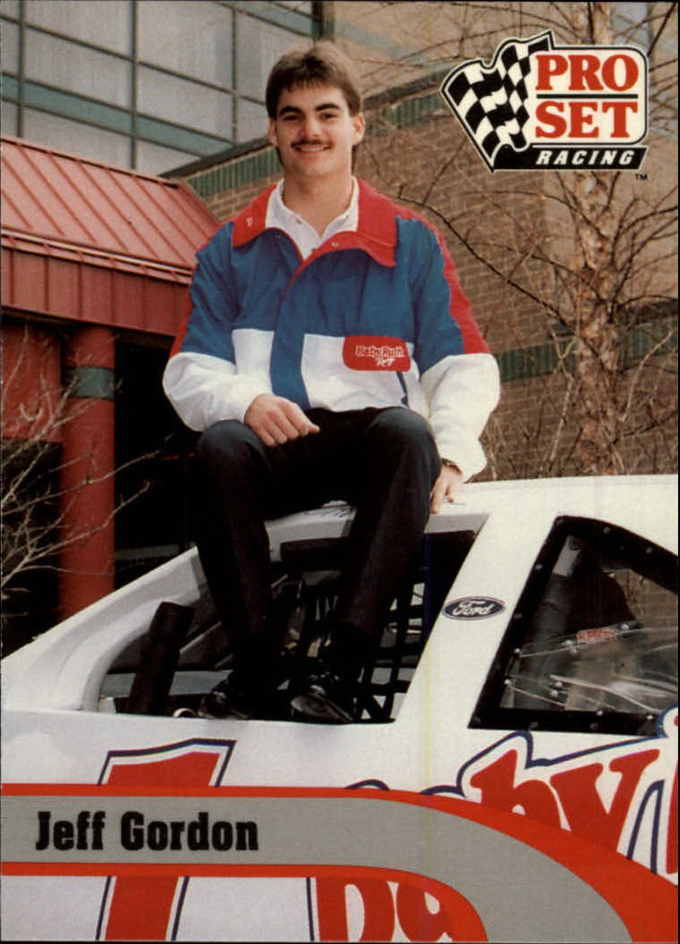 1992 Pro Set #128 Jeff Gordon