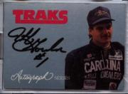 1992 Traks Autographs #A7 Jeff Gordon