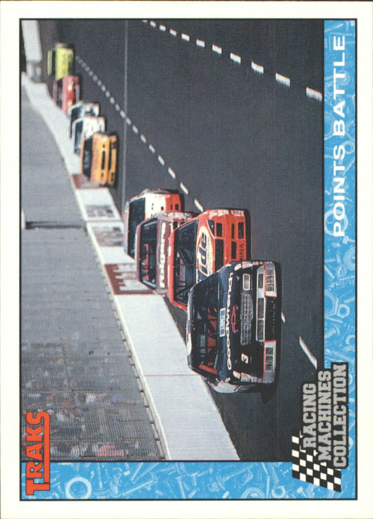 1992 Traks Racing Machines #44 Dale Earnhardt Race Action