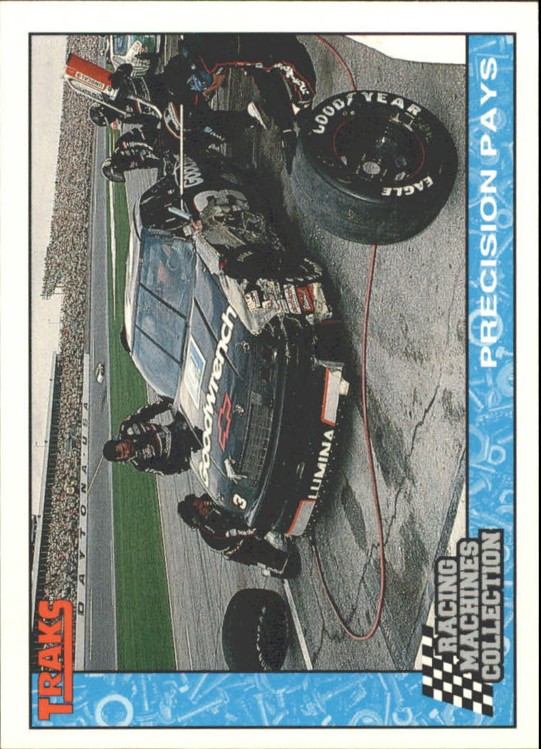 1992 Traks Racing Machines #54 Dale Earnhardt in Pits