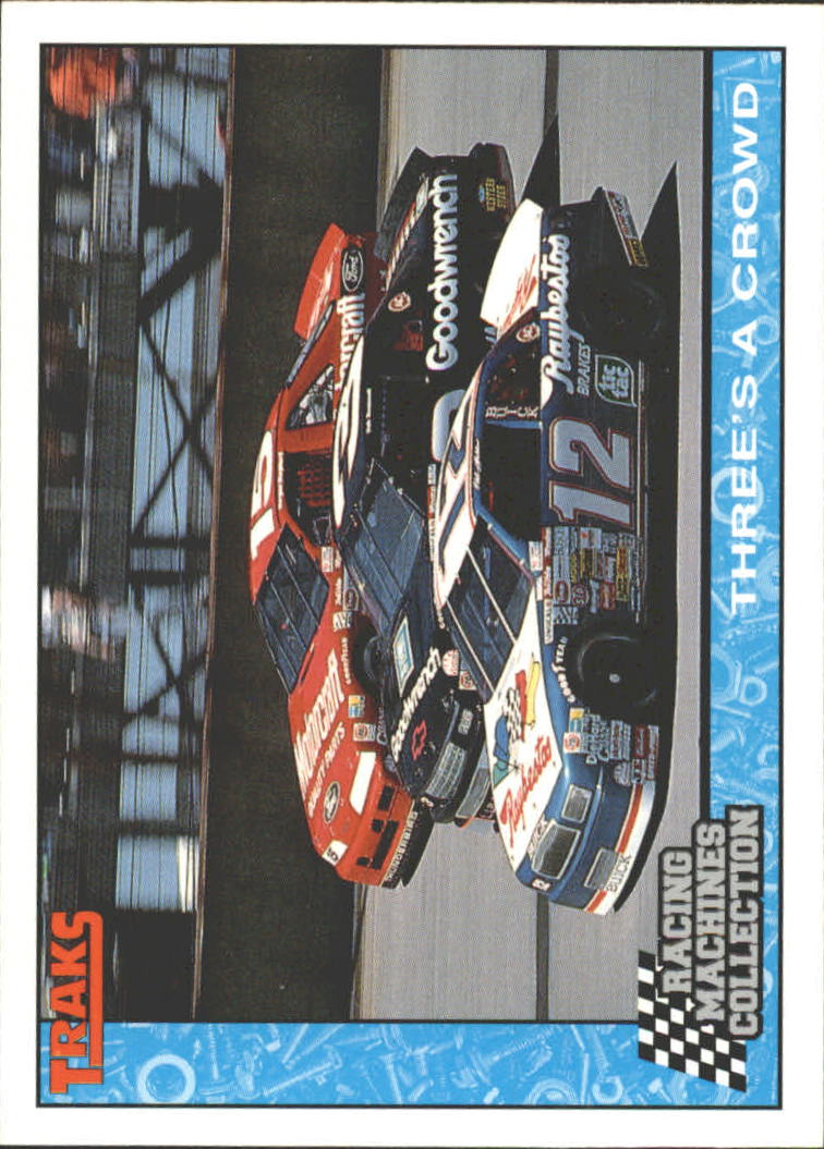 1992 Traks Racing Machines #84 Dale Earnhardt Race Action