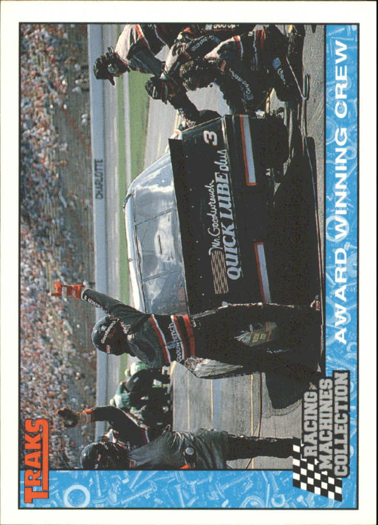 1992 Traks Racing Machines #89 Dale Earnhardt in Pits