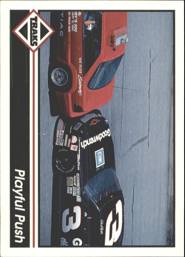 1992 Traks Racing Machines Bonus #3B Dale Earnhardt's Car
