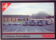 1992 Traks Team Sets #16 Dale Earnhardt's Cars