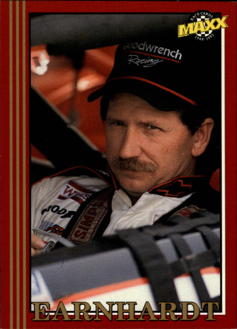 1992 Maxx Red #3 Dale Earnhardt