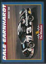 1992 Maxx The Winston #34 Dale Earnhardt's Car