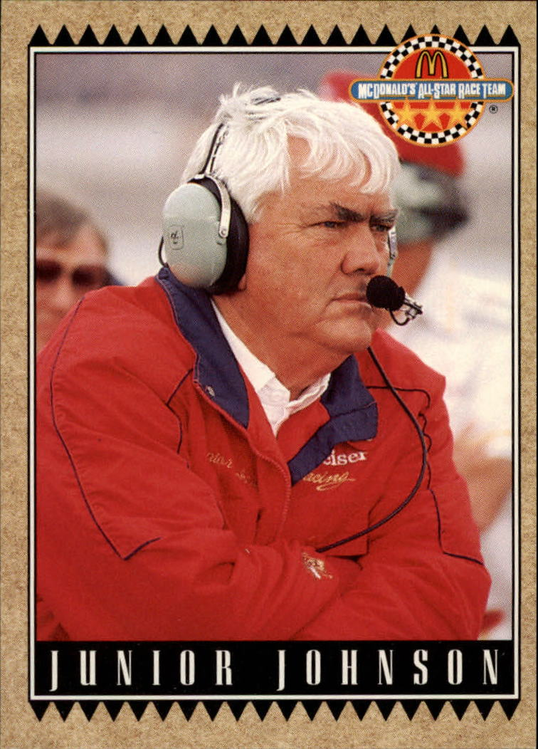 1992 Maxx McDonald's #7 Junior Johnson