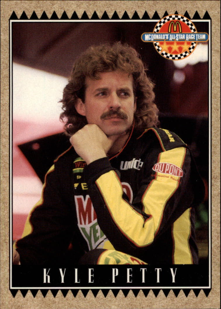1992 Maxx McDonald's #35 Kyle Petty