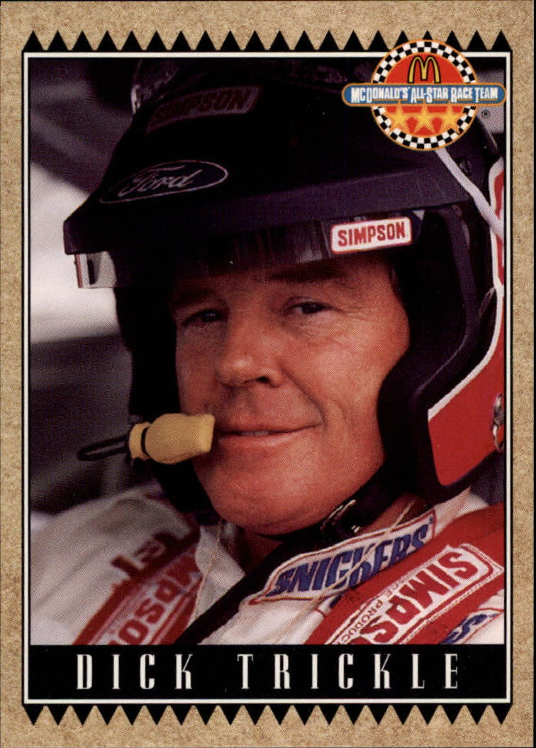 1992 Maxx McDonald's #36 Dick Trickle