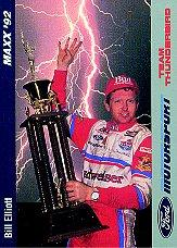 1992 Maxx Motorsport #1 Bill Elliott