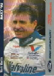1992 Maxx Motorsport #5 Mark Martin