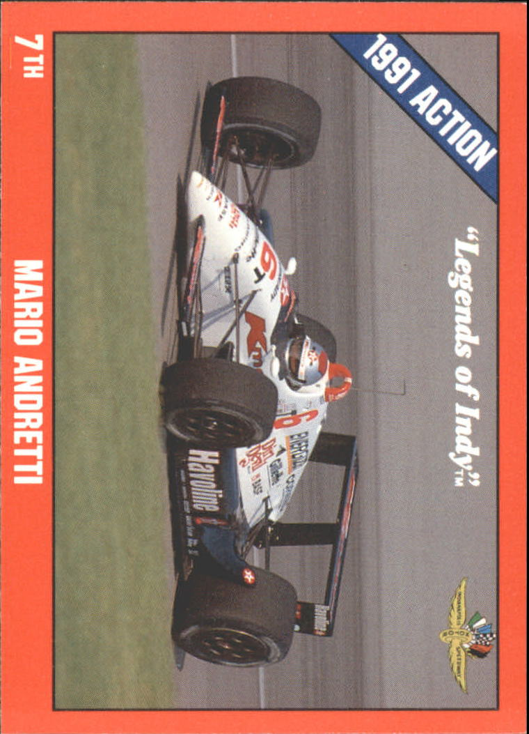1992 Legends of Indy #8 Mario Andretti's Car