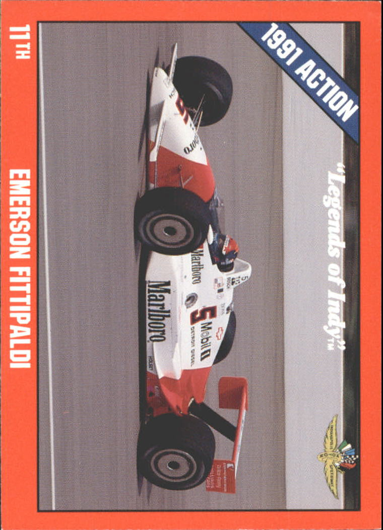 1992 Legends of Indy #12 Emerson Fittipaldi's Car