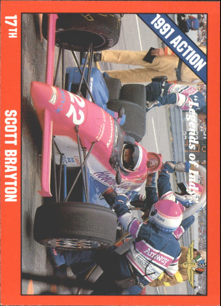 1992 Legends of Indy #18 Scott Brayton's Car