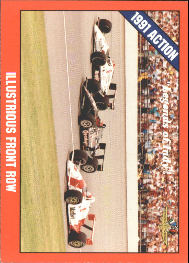 1992 Legends of Indy #43 Rick Mears/Foyt/Mario Andretti Cars