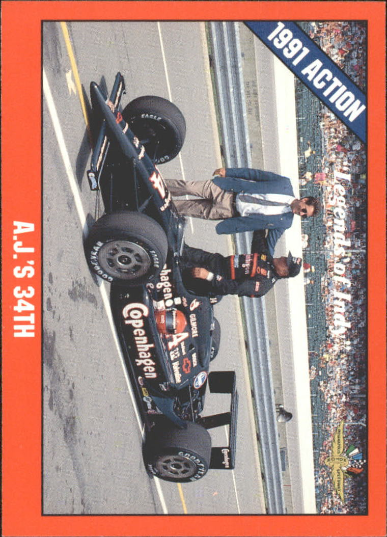 1992 Legends of Indy #57 A.J.Foyt/Tony George