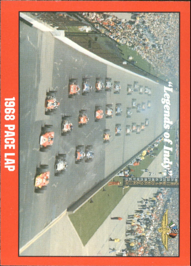 1992 Legends of Indy #63 1968 Pace Lap
