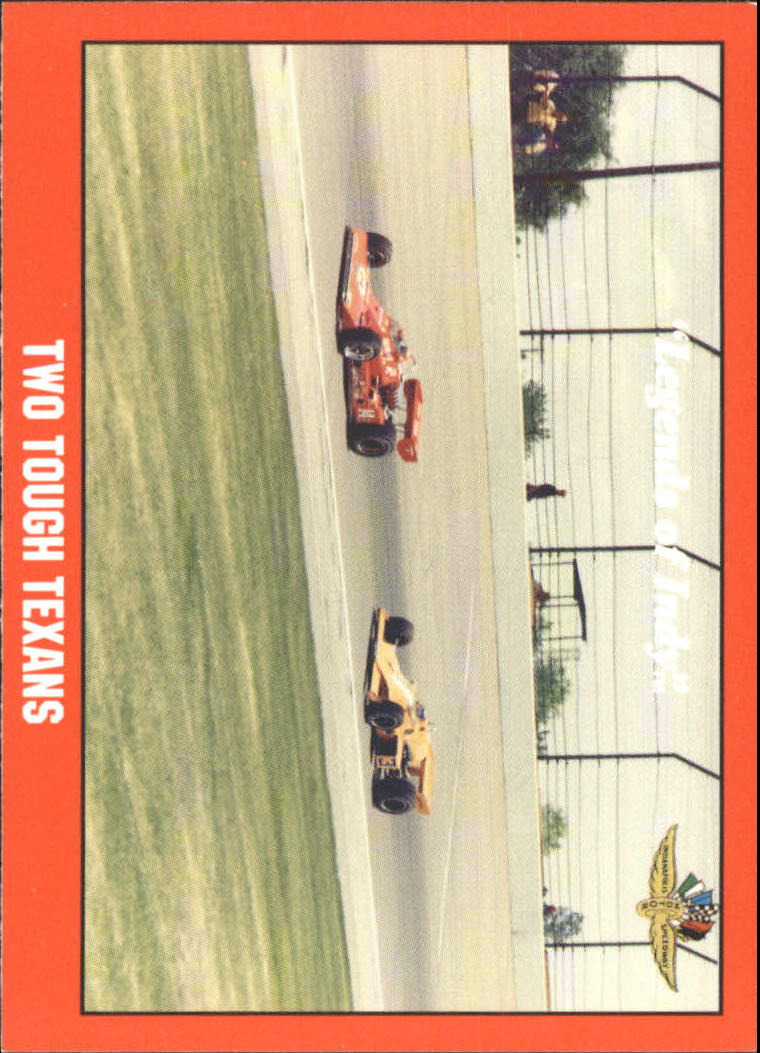 1992 Legends of Indy #64 A.J.Foyt/Johnny Rutherford Cars