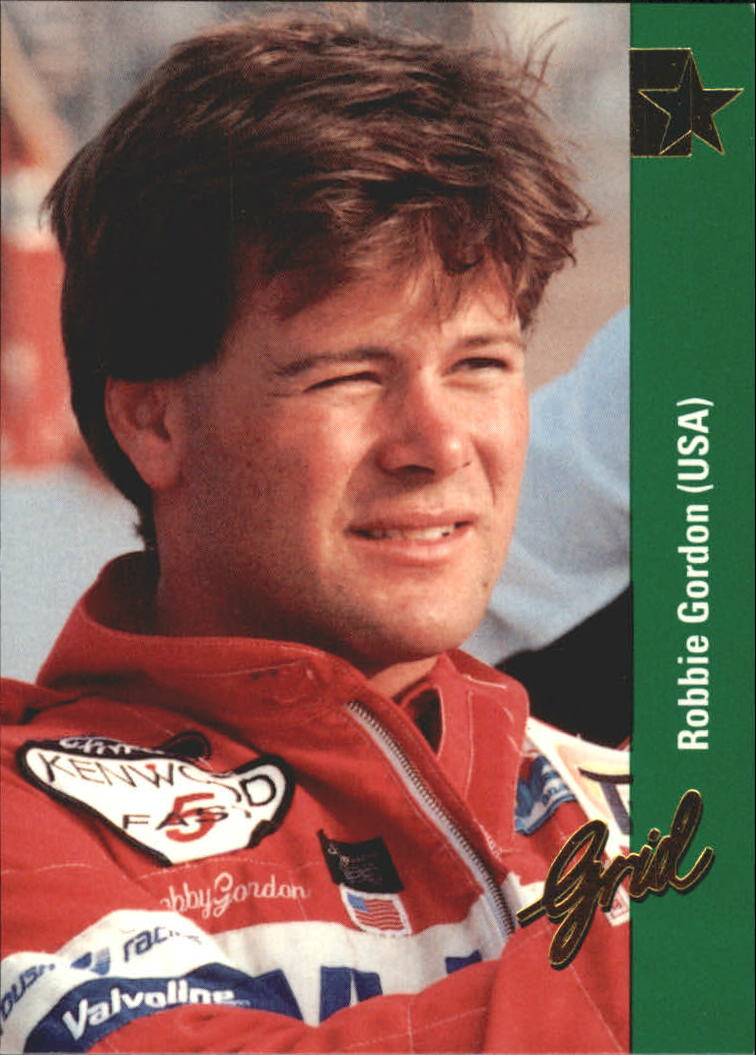 1992 Grid Formula One #177 Robby Gordon