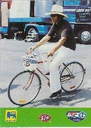 1992 Food Lion Richard Petty #66 Richard Petty on Bike