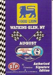 1992 Food Lion Richard Petty #69 Watkins Glen, NY Aug.