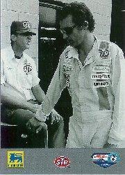 1992 Food Lion Richard Petty #74 Richard Petty w/Brother