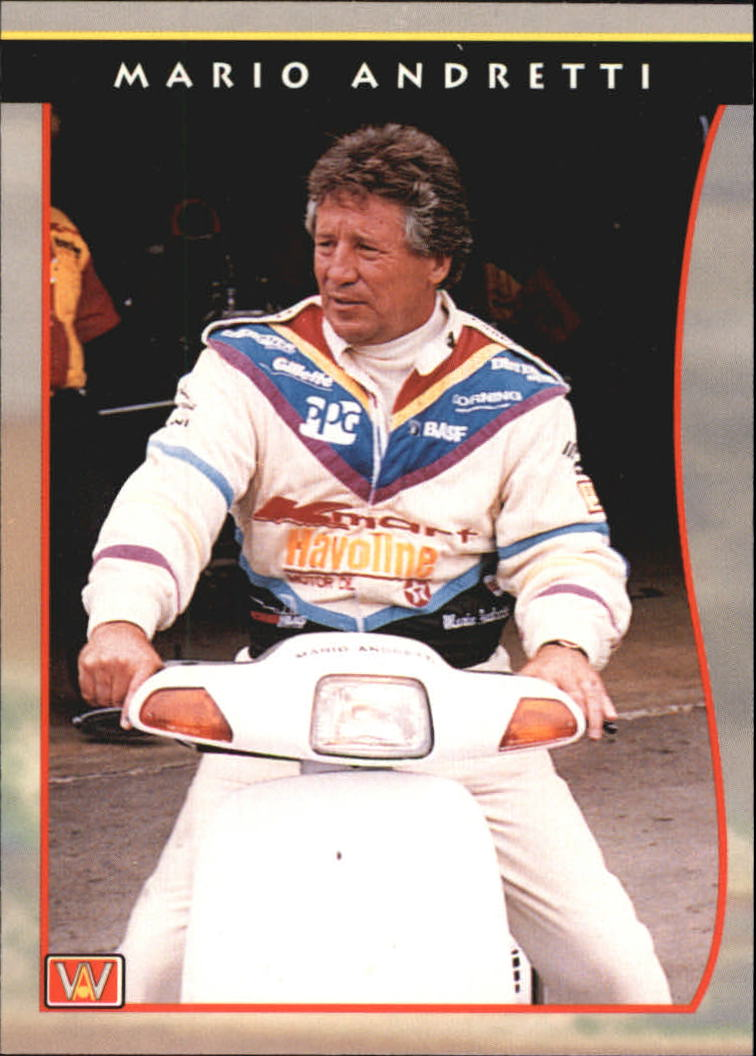 1992 All World Indy #25 Mario Andretti