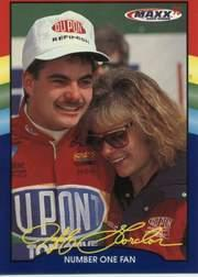 1993 Maxx Jeff Gordon #16 Jeff Gordon w/Mom