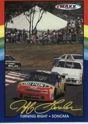 1993 Maxx Jeff Gordon #17 Jeff Gordon's Car