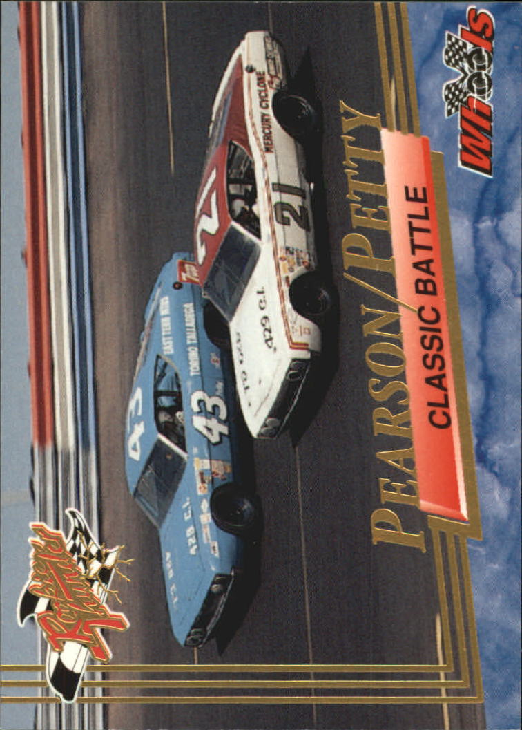 1993 Wheels Rookie Thunder #95 Richard Petty/David Pearson Cars