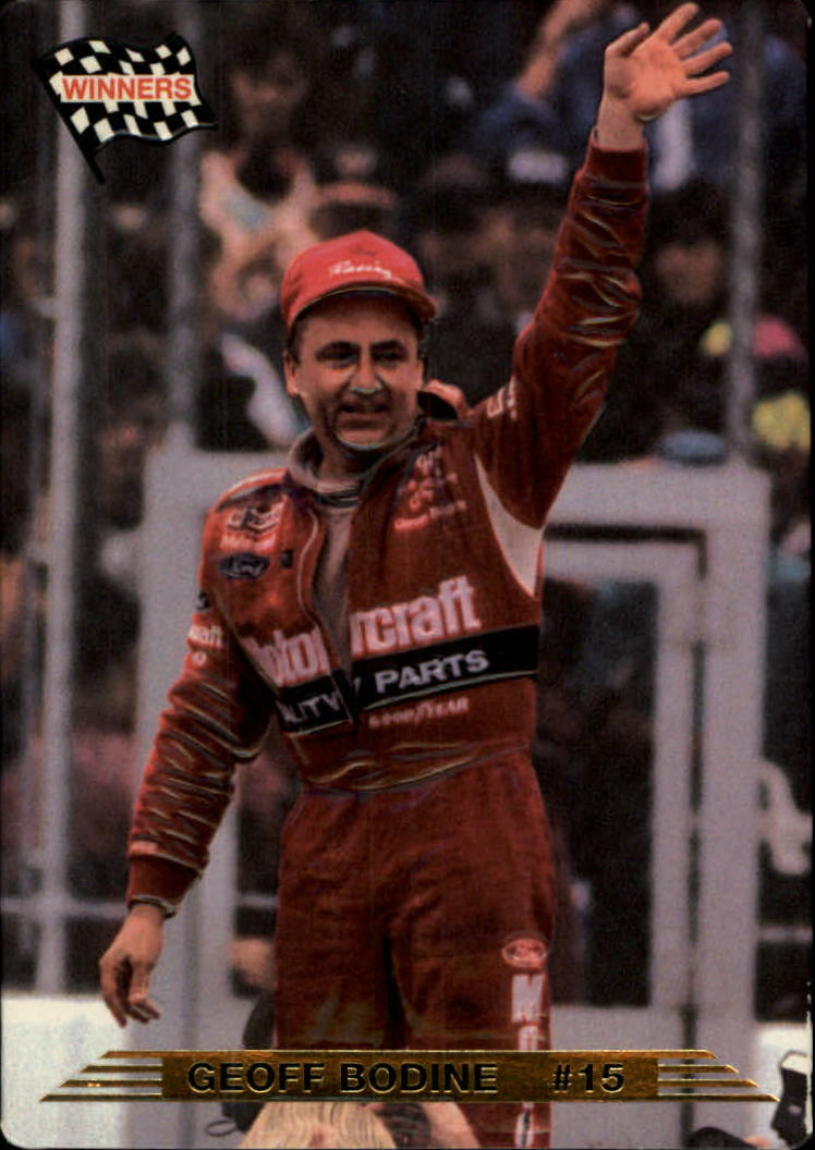1993 Action Packed #4 Geoff Bodine WIN