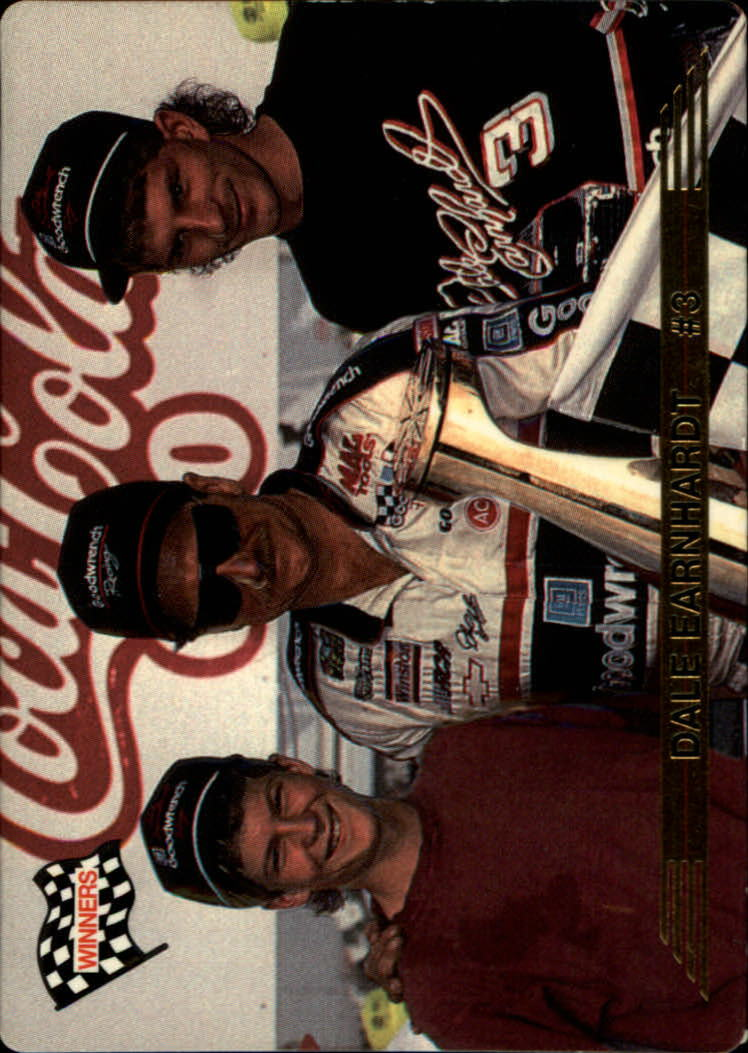 1993 Action Packed #139 Dale Earnhardt WIN/with Dale Earnhardt Jr./and Kerry Earnhardt