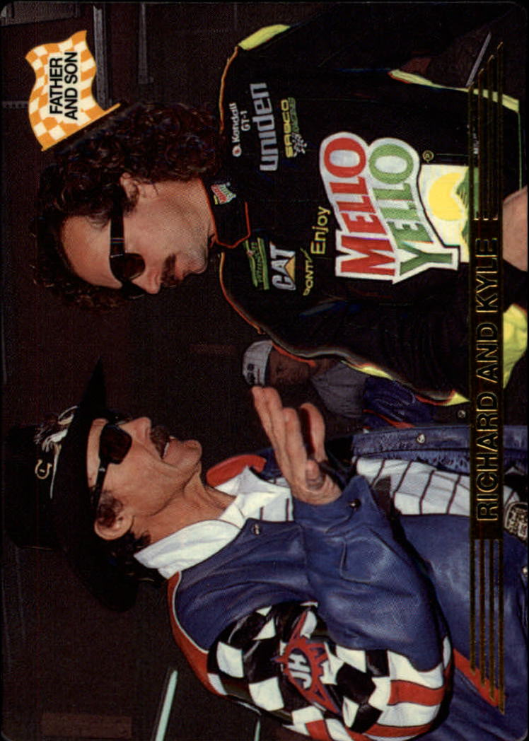 1993 Action Packed #160 Richard Petty/Kyle Petty