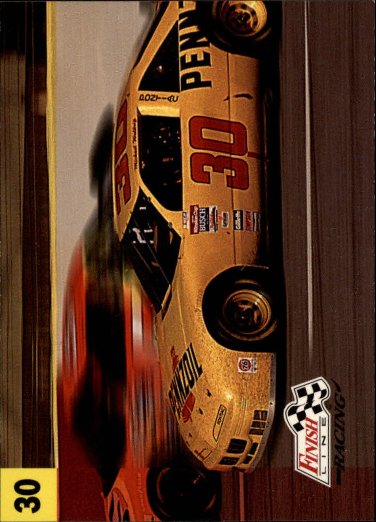 1993 Finish Line #15 Michael Waltrip's Car