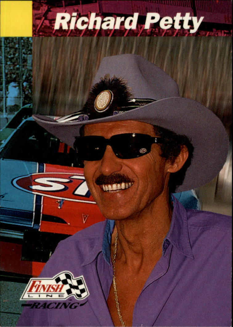 1993 Finish Line #61 Richard Petty