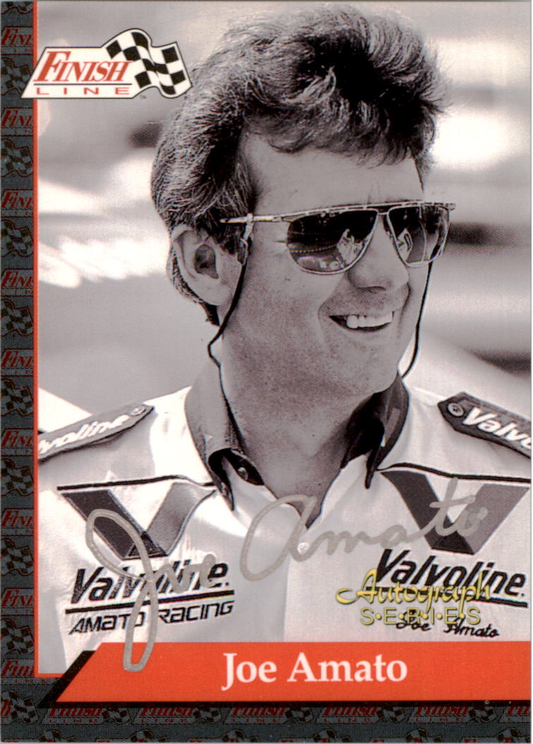 1993 Finish Line NHRA Autographs #1 Joe Amato