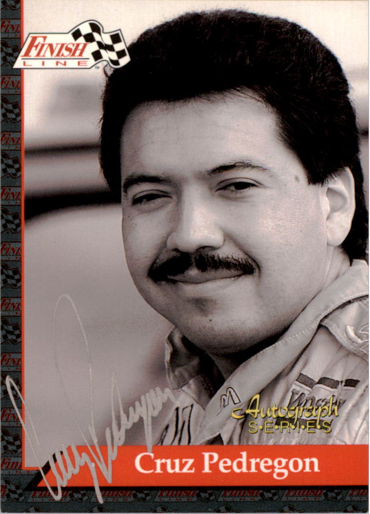 1993 Finish Line NHRA Autographs #4 Cruz Pedregon