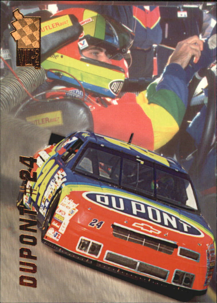 1994 VIP #38 Jeff Gordon w/Car