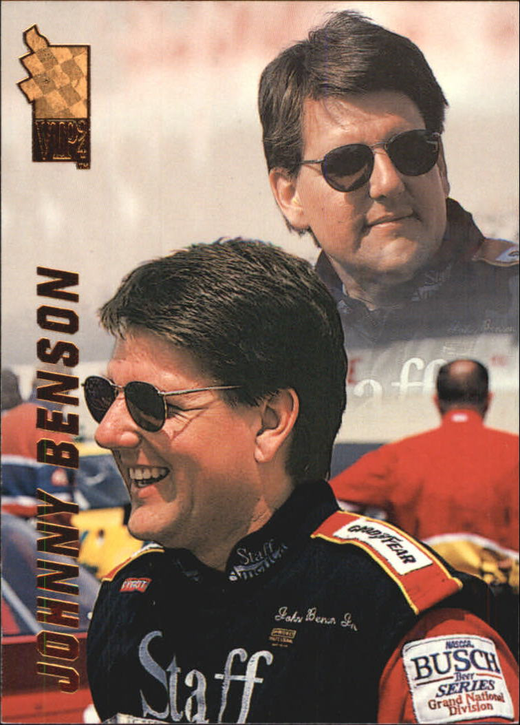 1994 VIP #55 Johnny Benson RC