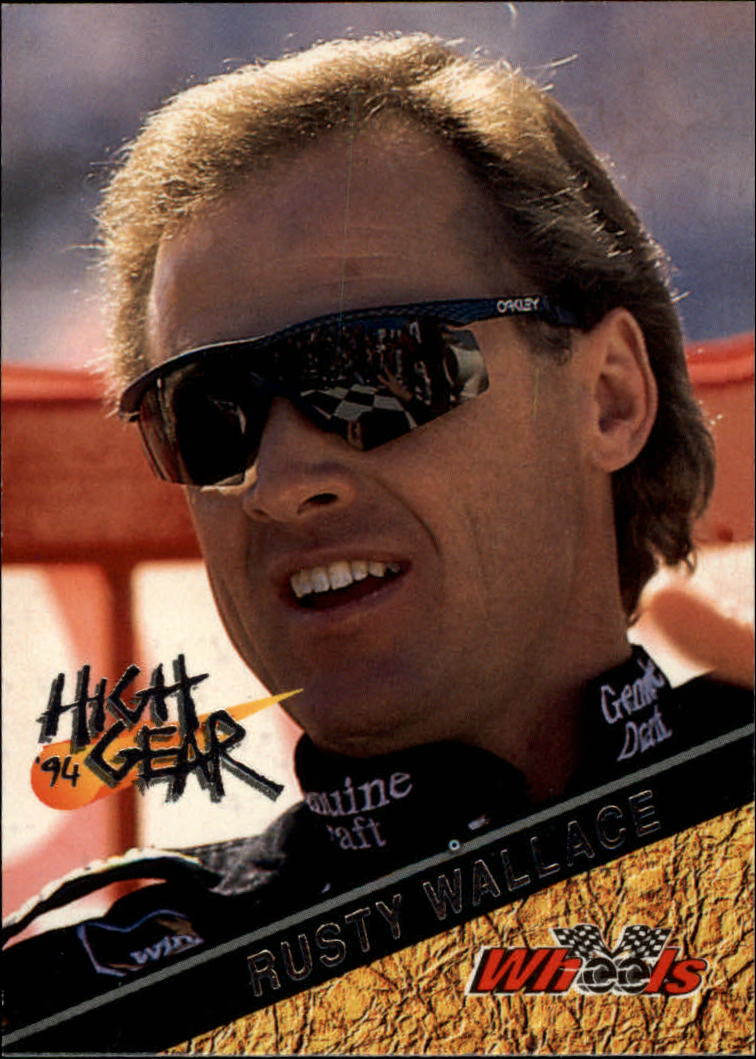 1994 Wheels High Gear #2 Rusty Wallace