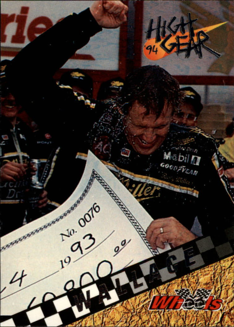 1994 Wheels High Gear #80 Rusty Wallace WIN