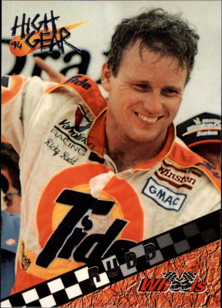 1994 Wheels High Gear #87 Ricky Rudd WIN